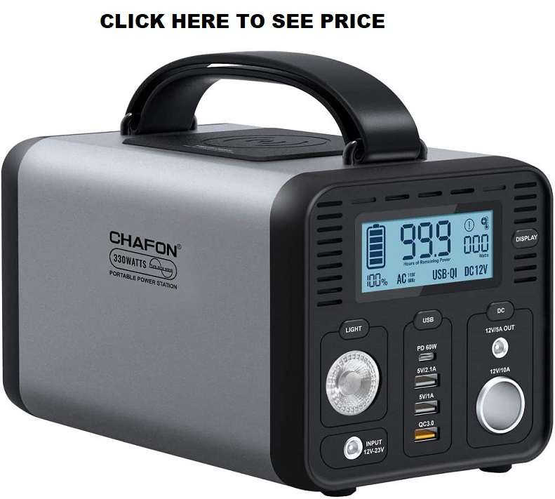 CHAFON 330W Portable Power Station