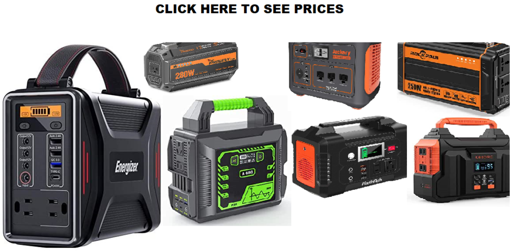 Best Portable Power Station For Camping