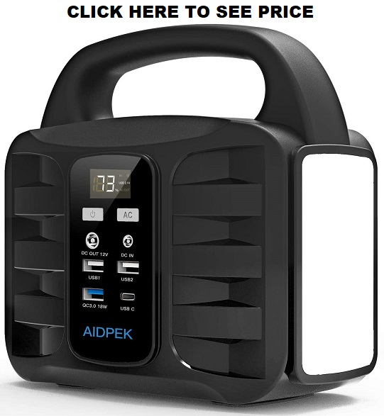 AIDPEK 100W Portable Power Station