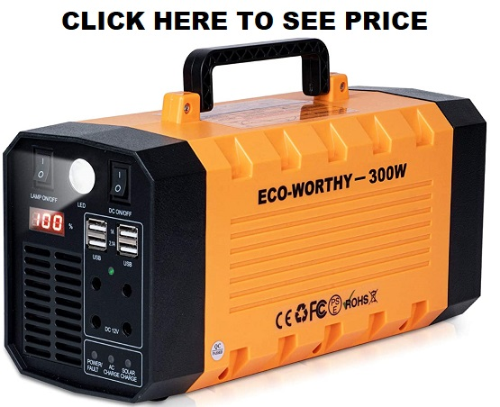 DC HOUSE 300Watt Portable Power Station