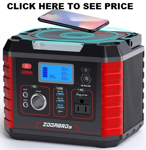 ZOOMBROS Portable Power Station