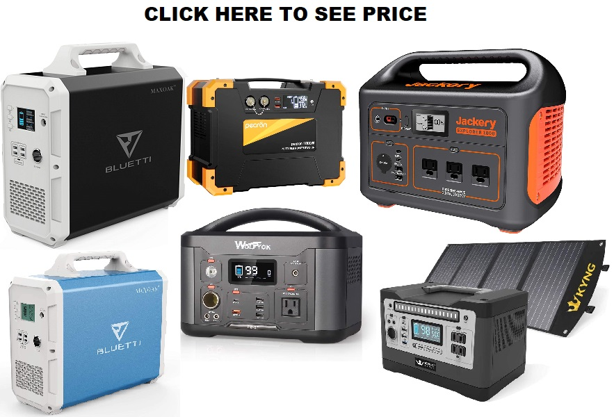 1000W Portable Power Station