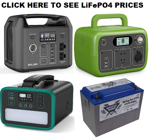 Lifepo4 Portable Power Station