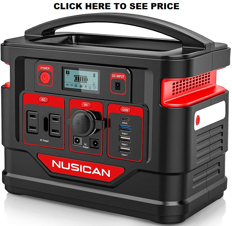 Nusican 300W Portable Power Station