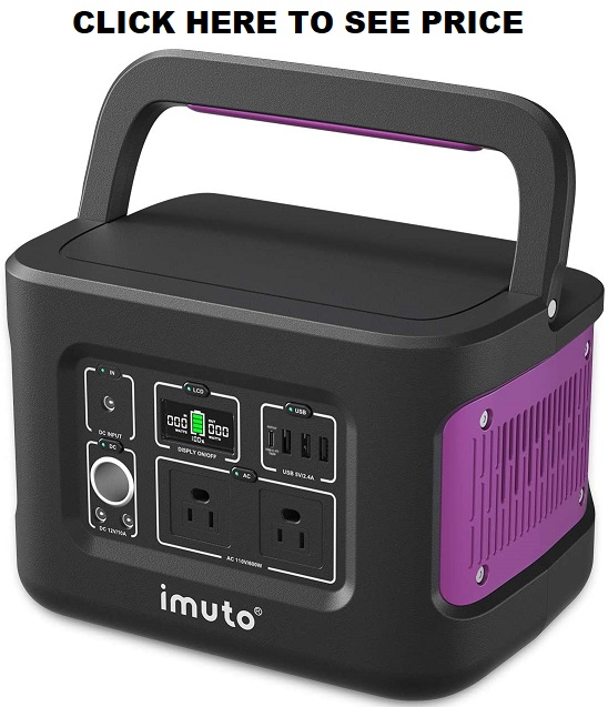 imuto Portable Power Station 600W