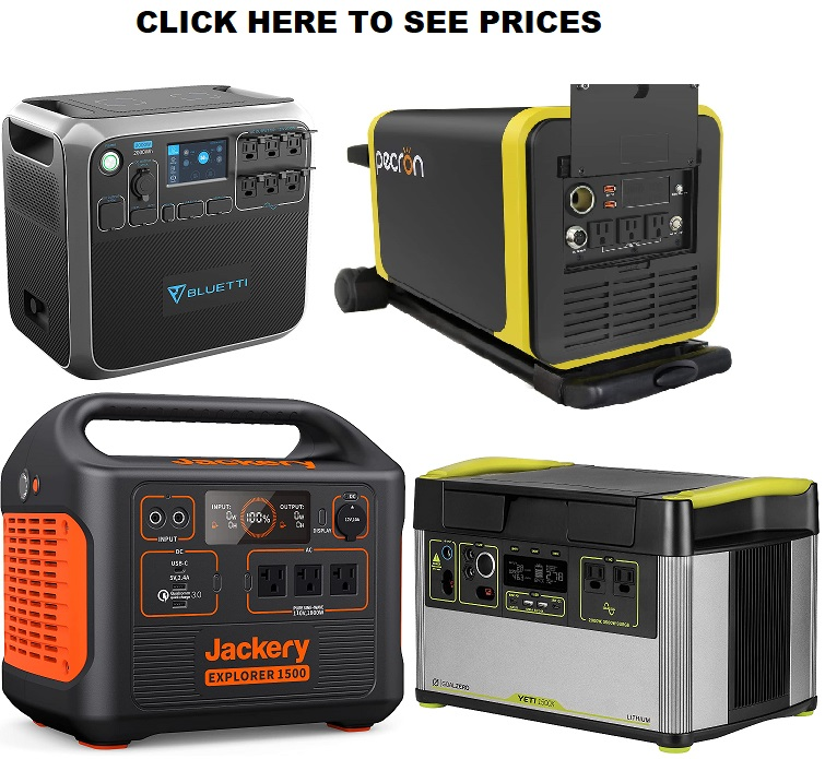 Portable Power Station 2000W