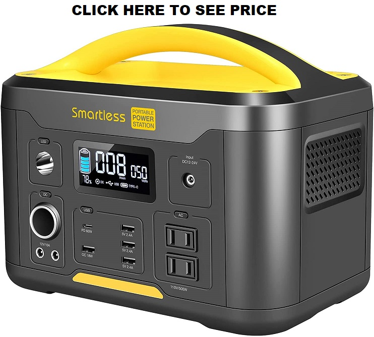 SMARTLESS 500W Portable Power Station