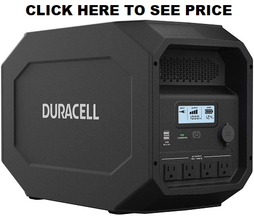 duracell powersource 1440w portable power station